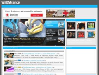 wiidsfrance.com screenshot
