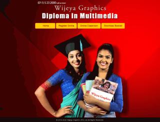 wijeyagraphicssrilanka.com screenshot