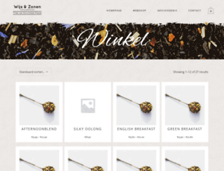 wijs-zonen.nl screenshot