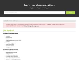 wiki.jetbackupmanager.com screenshot