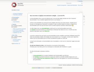 wiki.kintpv.com screenshot