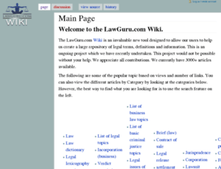 wiki.lawguru.com screenshot