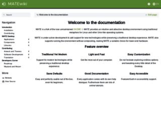 wiki.mate-desktop.org screenshot