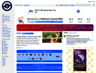 wiki.pokemoncentral.it screenshot