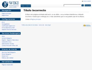 wiki.redabogacia.org screenshot