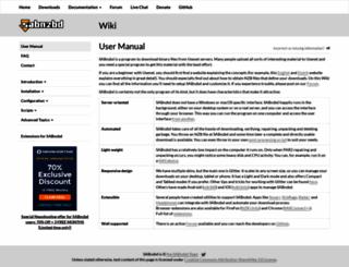 wiki.sabnzbd.org screenshot