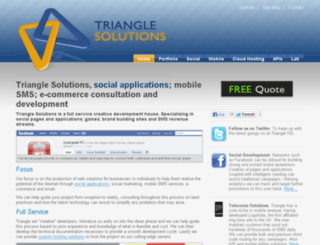 wiki.triangle-solutions.com screenshot
