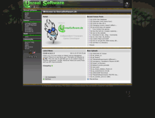wiki.unrealsoftware.de screenshot