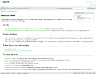 wiki.weltzer.fr screenshot