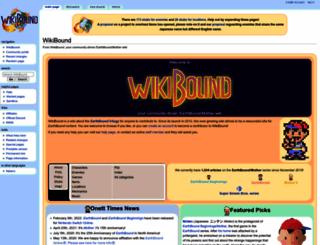 wikibound.info screenshot