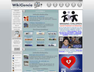 wikiciencia.org screenshot
