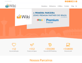 wikiconsultoria.com.br screenshot