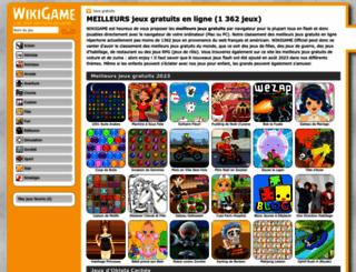 wikigame.fr screenshot