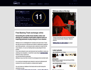 wikiloops.com screenshot