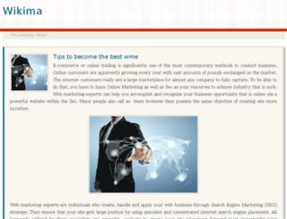wikima.net screenshot