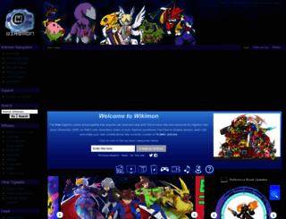 wikimon.net screenshot