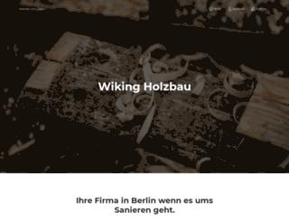 wikingholzbau.de screenshot