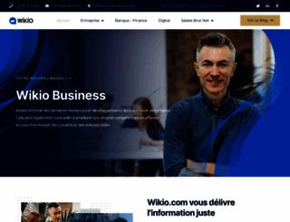 wikio.com screenshot