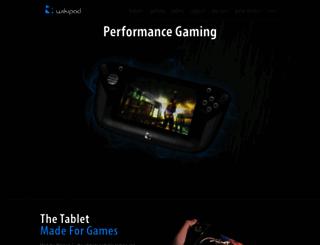 wikipad.com screenshot