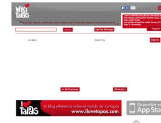 wikitapas.com screenshot