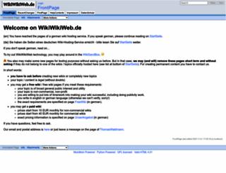 wikiwikiweb.de screenshot