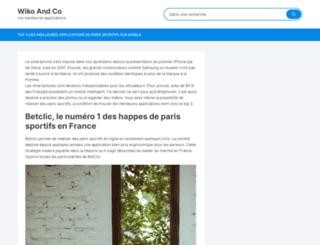wikoandco.fr screenshot