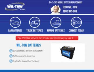 wil-towbatteries.com screenshot