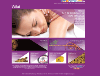 wilai-massage.de screenshot