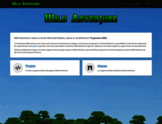 wildadventure.it screenshot