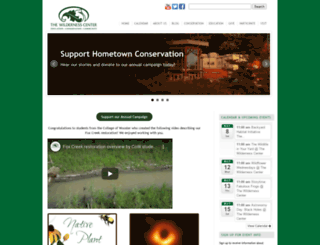 wildernesscenter.org screenshot