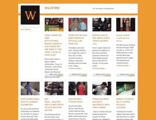 wildfiremag.wordpress.com screenshot