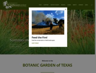 wildflower.org screenshot