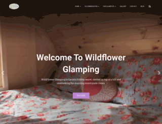 wildflowerglamping.ie screenshot