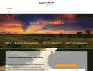 wildfrontiers.co.ug screenshot