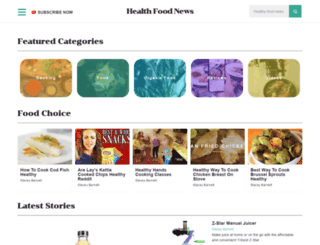 wildhealthfood.com screenshot