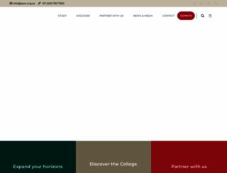 wildlifecollege.org.za screenshot