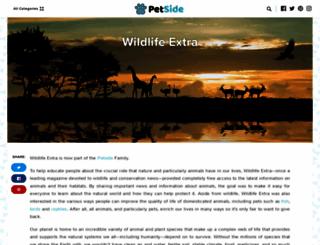 wildlifeextra.com screenshot
