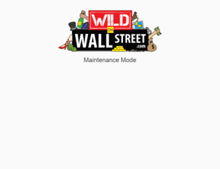 wildonwallstreet.com screenshot