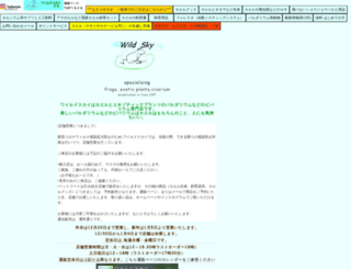 wildsky.net screenshot