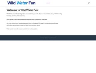 wildwaterfun.com screenshot