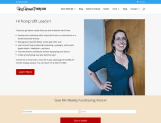 wildwomanfundraising.com screenshot