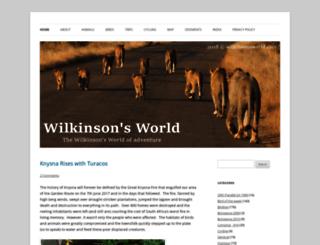 wilkinsonsworld.com screenshot