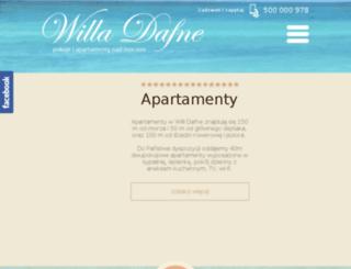 willa-dafne.pl screenshot