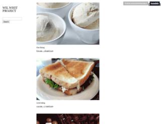 willandwhitproject.tumblr.com screenshot