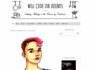 willcookforfriends.com screenshot