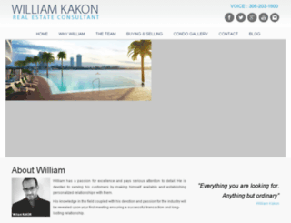 williamkakon.com screenshot