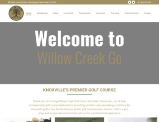 willowcreekgolf.com screenshot