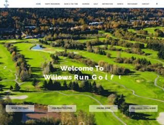 willowsrun.com screenshot