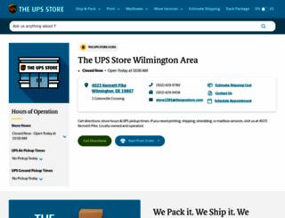 wilmington-de-1391.theupsstorelocal.com screenshot