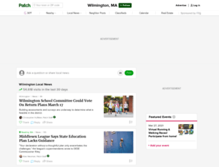 wilmington.patch.com screenshot